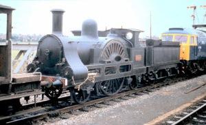 Preserved LNWR 2-2-2 3020