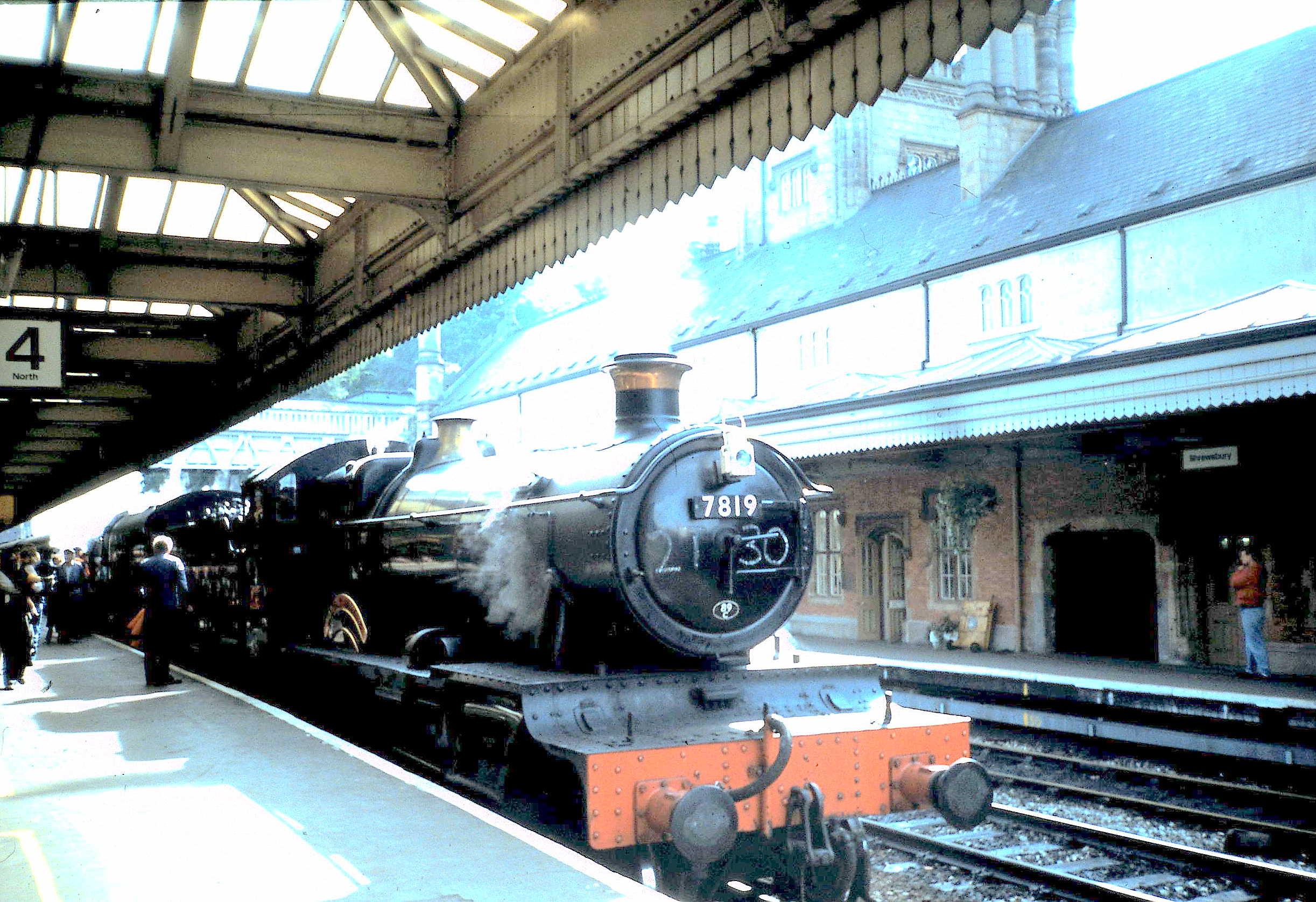Preserved Steam on the Main Line. | Shrewsbury Railway Heritage Trust