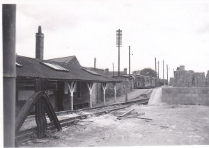 Abbey Station in 1950, whilst still under WD Control.